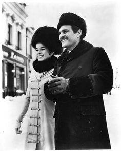 "Omar Sharif, Geraldine Chaplin in ""Doctor Zhivago"" Director: David Lean. This Is Us Movie, Movie Stars, Movie Tv, Martin Scorsese, Dr Zhivago, Doctor Zhivago, Stanley Kubrick, Alfred Hitchcock, David Lean"