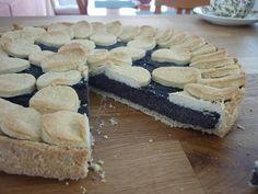 Křehké koláčové těsto bez másla a margarínu a makový koláč