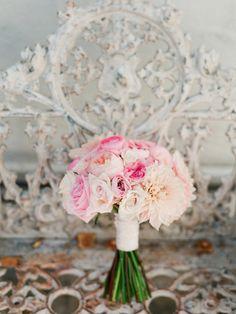 #peony, #dahlia, #rose  Photography: lane Dittoe fine art wedding photographs - lanedittoe.com Floral Design: Floral Occasions - floraloccasions.com/  Read More: http://www.stylemepretty.com/2013/07/03/villa-san-juan-capistrano-wedding-from-lane-dittoe-fine-art-wedding-photographs/