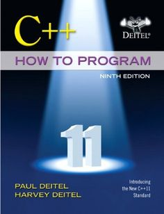 C++ How to Program (Early Objects Version) (9th Edition) by Paul Deitel. Save 20 Off!. $113.49. Publisher: Prentice Hall; 9 edition (February 22, 2013). Publication: February 22, 2013. Edition - 9