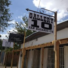 The new Gallery 10 in the San Elizario Historic District Historical Society, Historical Sites, County Jail, Tour Guide, Art Studios, The Neighbourhood, Tours, Gallery, Saints