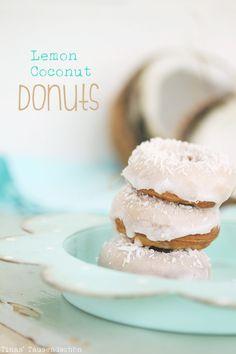 Lemon-Coconut-Donut (von Tinas Tausendschön)