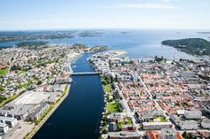 Flyfoto Kristiansand Kristiansand, Norway, Paris Skyline, City Photo, Travel, Viajes, Traveling, Trips, Tourism