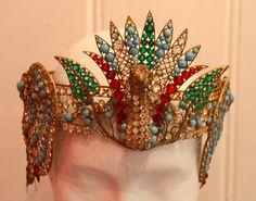 Part of Sarah Bernhardt's costume for Theodora, 1890
