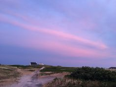 The sky in Panfret, Britany