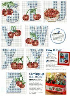 Cherry & Gingham ABCs