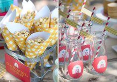 Bella Fiore Decoração de Eventos: Inspiração - Festa Fazendinha ao ar Livre