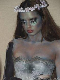 Adriana Lima Corpse Bride  Death Bridal Photo Shoot