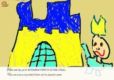 Livre multimedia Scribjab - L'explosion du château du 5e roi William.  #escargotetcoquille #homeschool