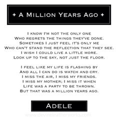 Here are the Adele Songs You Love Most A Million Years Ago • Adele.