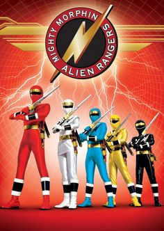 Mighty Morphin Alien Rangers arrives in retail on September 24th, 2013. Description from saveusfromobscurity.wordpress.com. I searched for this on bing.com/images