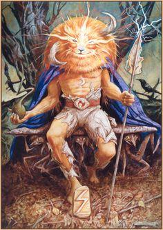 Brian Froud via Faeries, Cob, Castles & Magic