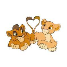 Kiara and Kovu Simba Et Nala, Lion King Timon, Lion King Movie, Disney Pixar, Disney And Dreamworks, Disney Art, Disney Movies, Disney Characters, Watercolor Art