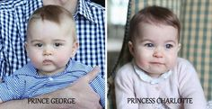 royalroaster:  Prince George, April 2014; Princess Charlotte, November 2015