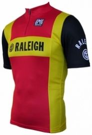 Retro wielershirt raleigh