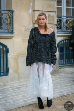 Camille Rowe by STYLEDUMONDE Street Style Fashion Photography
