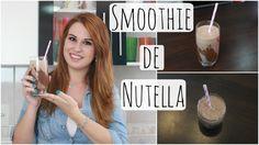 Smoothie de Nutella - Brincando de Ana Maria