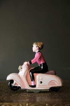 Scooter Girl Wind Up Toy