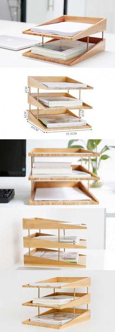 fun and creative DIY desk organizer ideas to make your desk cute! - Do it yourself - fun and creative DIY desk organizer ideas to make your desk cute!