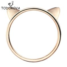 f379faf2b97a Click to Buy    Todorova Couple Jewelry Silver Ring Cute Kitty Cat Ear  Rings for Women Wholesale Female Finger Ring  Affiliate