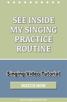 See Inside My Singing Practice Routine #singing #music #lesson #tutorial