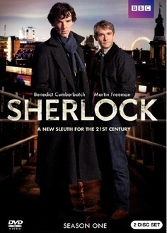 Sherlock BBC. The American knock off can't hold a candle to this.