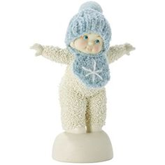 Amazon.com: Department 56 Snowbabies Classics Baby's First Steps Boy Figurine: Home & Kitchen