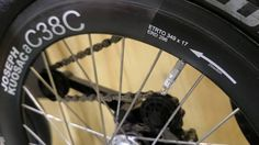The long wait is over, a professional carbon wheel set for Brompton, with aluminum brake rim? More details revealed in BWC London to come.