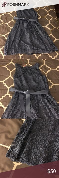 Simply Liliana dress Blue lace dress. Worn once. jcpenney Dresses Wedding