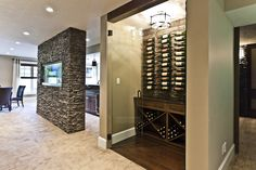 Lottery Home 2011 - the Mackenzie contemporary wine cellar