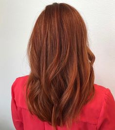 Vibrant & rich red hair color - New Hair Red Ombre Hair, Bright Red Hair, Hair Color Auburn, Red Hair Color, Cool Hair Color, Color Red, Auburn Hair Copper, Copper Hair, Short Red Hair