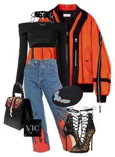"""Untitled #202"" by victoriaburton1 ❤ liked on Polyvore featuring Puma, Eugenia Kim, Dsquared2 and Gucci"