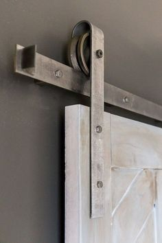 before & after: repurposed horse stall doors | Design*Sponge