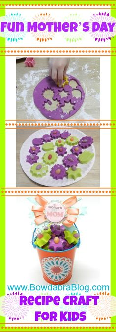 Fun Mother's Day Dessert Recipe for Kids to Make for Momma!