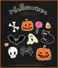 Free halloween stickers :)