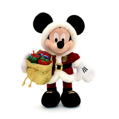 Mickey Mouse Christmas Soft Toy, Limited Edition £30.00