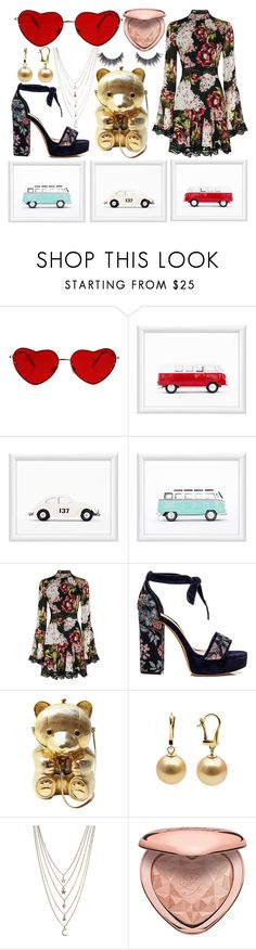 """""""70's heartthrob daddy asf volkswagen"""" by loveroverfear on Polyvore featuring Nicholas, Judith Leiber, Ettika and Too Faced Cosmetics"""