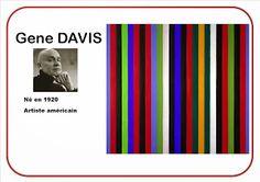 Ma petite maternelle: Traits verticaux selon Gene Davis
