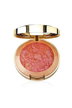 """The Best Drugstore Products For Fall, From Hollywood's Top Makeup Artists  #refinery29  http://www.refinery29.com/hollywood-makeup-artist-fall-drugstore-picks#slide-7  """"My clients and I love these blushes because they have just the right amount of shimmer to give a soft glow to the cheek. This rose-berry shade [Berry Amore] looks great on most complexions. Use a fluffy brush for a sheer application.""""..."""