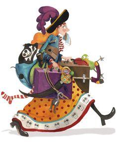 Lady Pirate  Manual de Piratas  Ed. Cuento de Luz