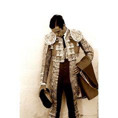 """El torero José Miguel Arroyo """"Joselito"""". Picture of the great bullfighter born in 1969."""