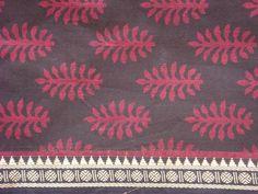 hand wooden block print - Indian cotton