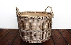 Large round log basket - Warings Store