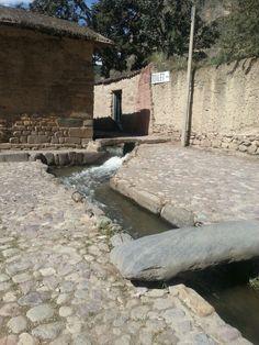 Inca water supply