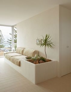 The Custom-Furniture-Filled Home Of Sydney Designer Olivia Bossy Built In Sofa, Built In Furniture, Custom Furniture, Home Furniture, Furniture Design, Custom Sofa, Furniture Removal, Coaster Furniture, Plywood Furniture