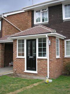 simple porch ideas terraced - Google Search