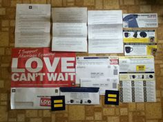 I Support Marriage Equality! Love Can't Wait Poster - Stickers - Membership Card - Address Labels & more from Human Rights Campaign #freestuff #freebies #samples #free