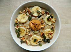Pumpkin// pb oats