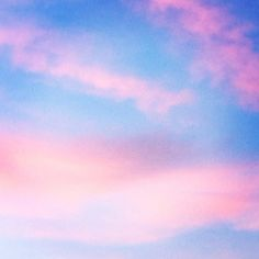 Pink clouds photo by Olivia Chapé  #Minimal #Pastel
