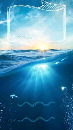↑↑TAP AND GET THE FREE APP! Lockscreens Art Creative Sea Sky Water Summer…